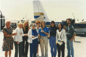 Elizabeth (Davidson) Murray (CFI) Amelia Earhart Flying Awards 1999